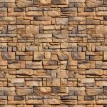 Stone Wall Tan Blocks