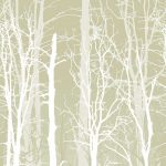 Winter Trees Henna