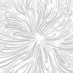 Abstract Flower Artwork - Frosted Fusion