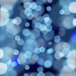 Bokeh, Icewater Blue
