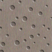 Brushed Stainless Crater Laminate Aluminum - NuMetal - #256 DRT