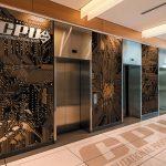 Fusion Wall Murals – Mill Aluminum Satin