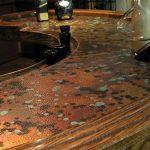 Patina Malachit Laminate Copper - Unique Art - NuMetal - #C414