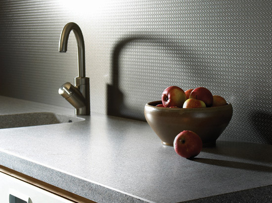 Brushed Aluminum Diamond Plate Laminate – NuMetal – #924 GEK
