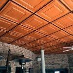 Raised Panel Coffer - MirroFlex - Ceiling Tiles Pack - Pearwood