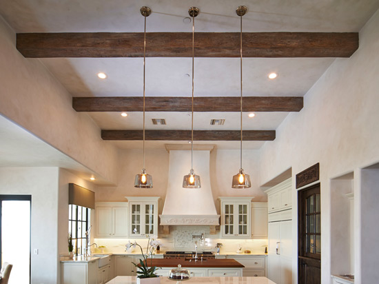 Faux Wood Beams – Dark Walnut