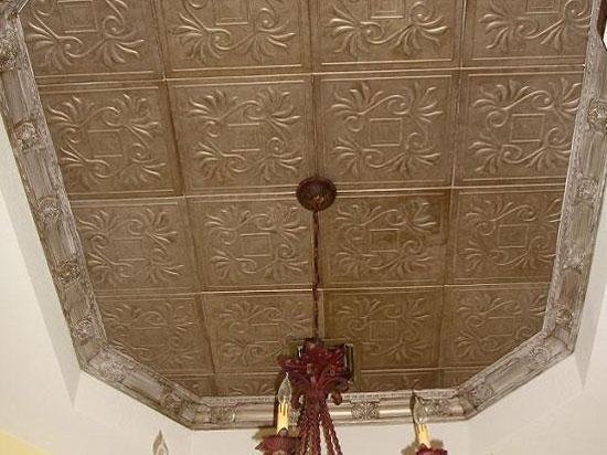 Cockatoos Glue-up Styrofoam Ceiling Tile 20 in x 20 in #R159