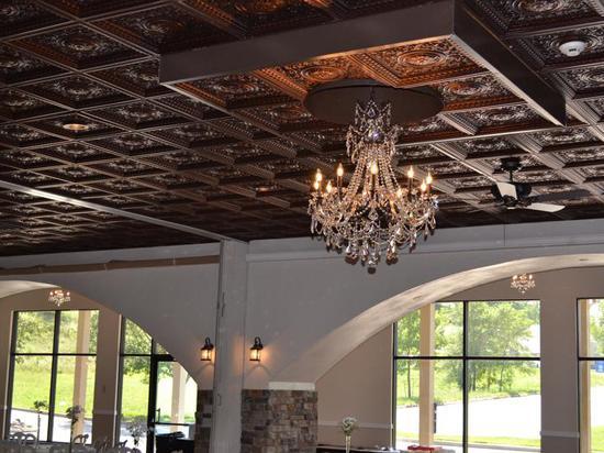 Da Vinci – Faux Tin Ceiling Tile – Drop in – 24 in x 24 in – #215
