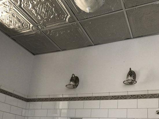 Elizabethan Shield – Aluminum Ceiling Tile – 24″x24″ – #2421
