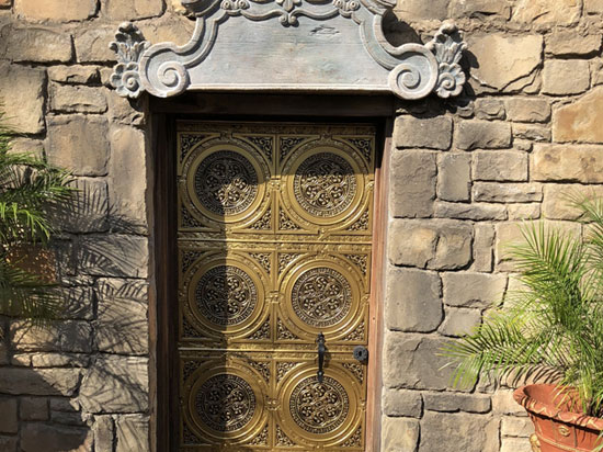Steampunk – Faux Tin Ceiling Tile – 24″x24″ – #225