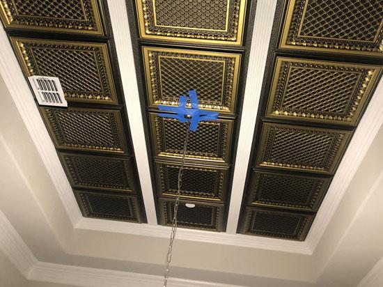 Faux Tin Ceiling Tile – #501