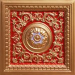 Rhine Valley - Faux Tin Ceiling Tiles - Drop In - 24 in x 24 in - #VC 02