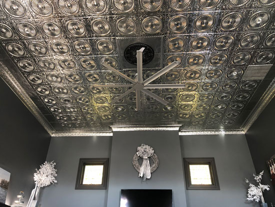 Shanko – Tin Plated Steel – Wall and Ceiling Patterns – #525