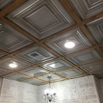 Washington Square - Faux Tin Ceiling Tile - 24 in x 24 in - #DCT 05