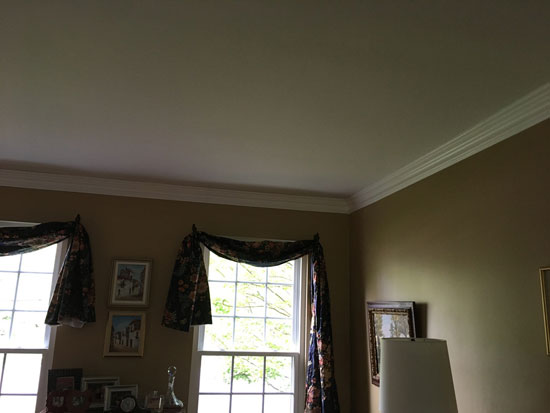 DIY Foam Crown Molding – 4.5 in Wide 95.5 in Long – #CC 454