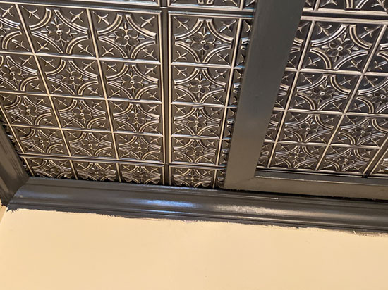 Faux Tin Ceiling Tile – 24 in x 24 in – #290