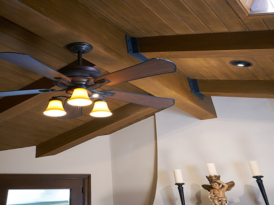 Faux Wood Beams – Oak