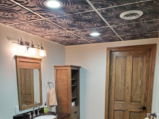 Faux Tin Ceiling Tile – DCT #50