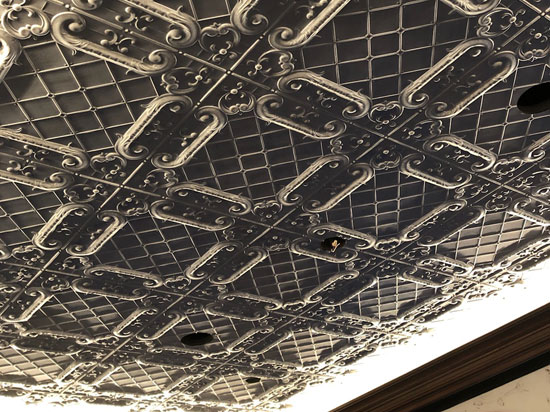 Romeo, Romeo – Shanko Tin Plated Steel Ceiling Tile – #502