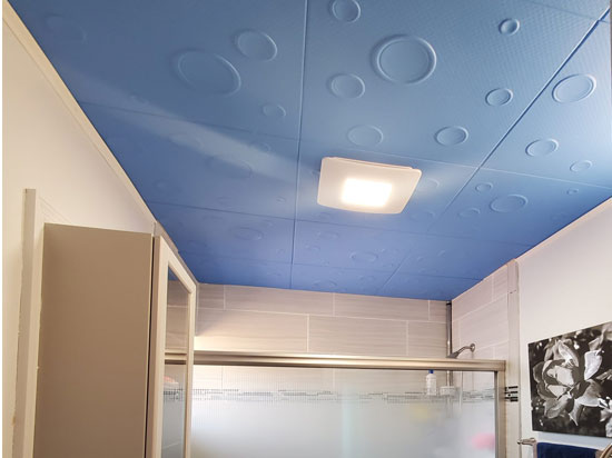 Bruno Glue-up Styrofoam Ceiling Tile 20 in x 20 in – #R115