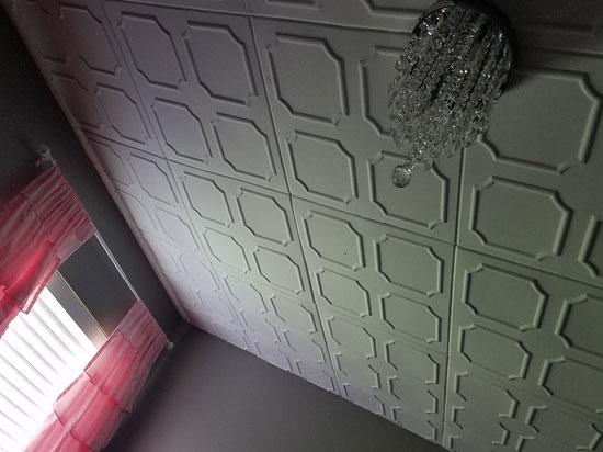 Bostonian Glue-up Styrofoam Ceiling Tile 20 in x 20 in – #R01