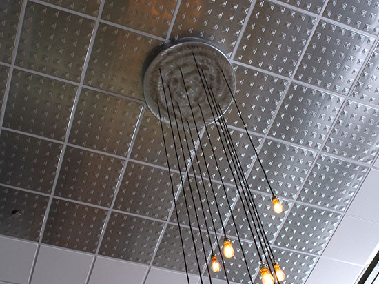 Herald's Squares – Aluminum Ceiling Tile – 24″x24″ – #2479