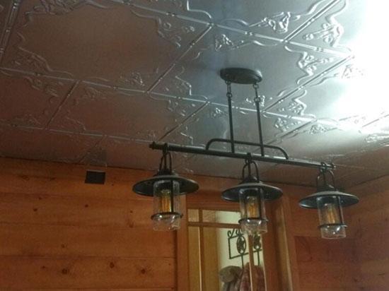 Longhorn – Aluminum Ceiling Tile – 24″x24″ – #2426