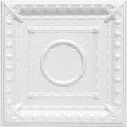 romanesque_wreath_styrofoam_ceiling_tile_r47