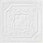 elizabethan_shield_faux_tin_ceiling_tile_24_in_x_24_in_dct_04_white_matte