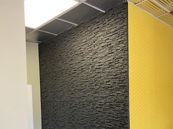 Stone 2ft. x 2ft. Seamless Glue-up Wall Panel