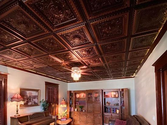 La Scala – Faux Tin Ceiling Tile – 24 in x 24 in – #223