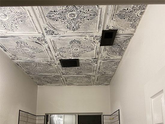 Faux Tin Ceiling Tile – #280