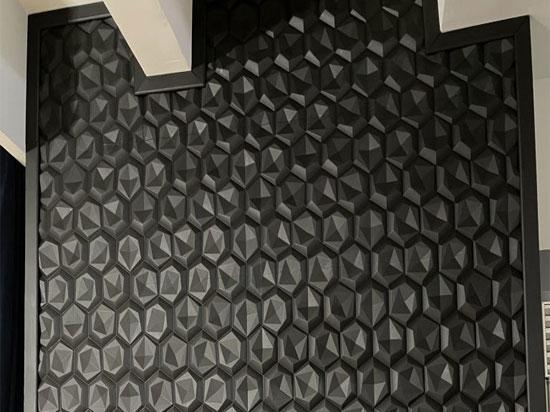 Hexagon 2ft. x 2ft. Seamless Glue-up Wall Panel
