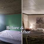 spring_buds_glue_up_styrofoam_ceiling_tile_before_after
