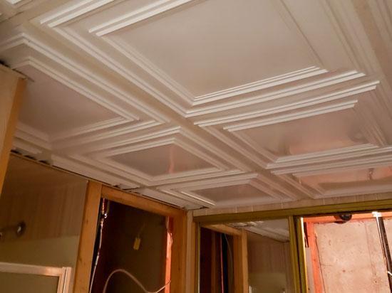 Economy 2 ft. x 2 ft. PVC Lay-in Ceiling Tile Pack