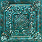 elizabethan_shield_faux_tin_ceiling_tile_24_in_x_24_in_dct_04_patina