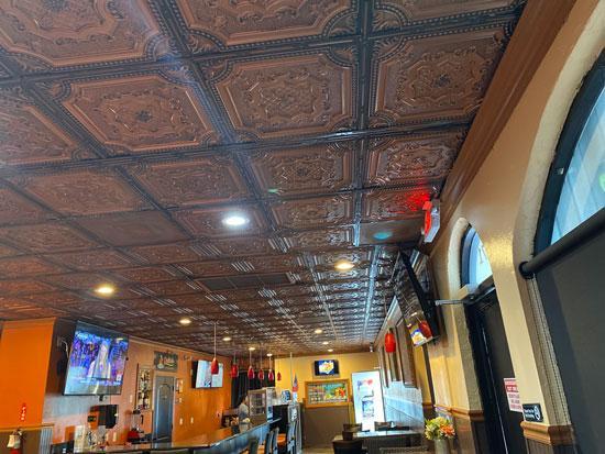My Beautiful Damaris – Faux Tin Ceiling Tile – 24 in x 24 in – #258